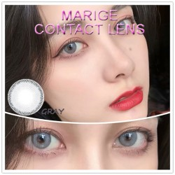 COLOR SOFT CONTACT LENS MARIGE GRAY (PAIR)