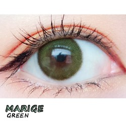 COLOR SOFT CONTACT LENS MARIGE GREEN (PAIR)