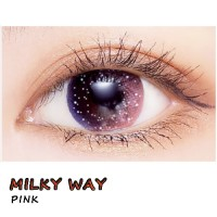 COLOR SOFT CONTACT LENS MILKY WAY PINK (PAIR)