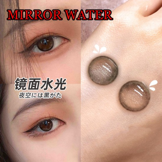 B-MIRROR WATER COLOR SOFT CONTACT LENS (2PCS/PAIR)