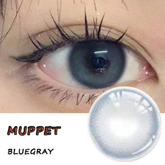MUPPET COLOR SOFT CONTACT LENS  (2PCS/PAIR)