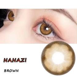 NANAZI BROWN COLOR SOFT CONTACT LENS  (2PCS/PAIR)