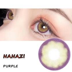 NANAZI VIOLET COLOR SOFT CONTACT LENS  (2PCS/PAIR)