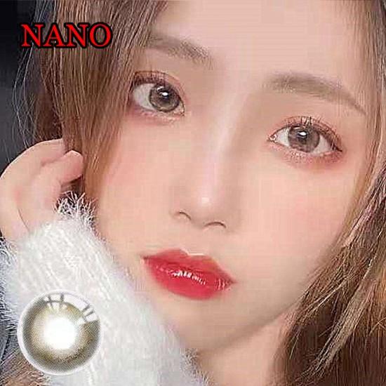 NANO BROWN COLOR SOFT CONTACT LENS (2PCS/PAIR)