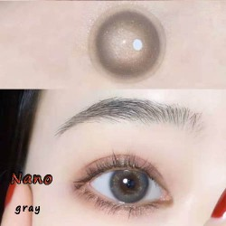 NANO GRAY COLOR SOFT CONTACT LENS (2PCS/PAIR)