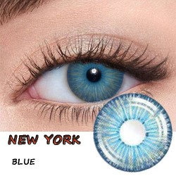 New York Blue Cosplay Color Contact Lens (2PCS/PAIR)