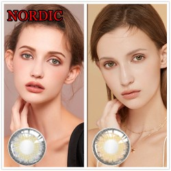 COLOR SOFT CONTACT LENS NORDIC BROWN (PAIR)