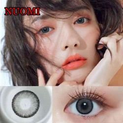 NUOMI GRAY COLOR SOFT CONTACT LENS  (2PCS/PAIR)