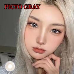 B-PICTO GRAY COLOR SOFT CONTACT LENS (2PCS/PAIR)