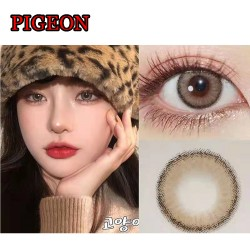 PIGEON BROWN COLOR CONTACT LENS (2PCS/PAIR)