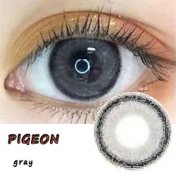 PIGEON GRAY COLOR CONTACT LENS (2PCS/PAIR)