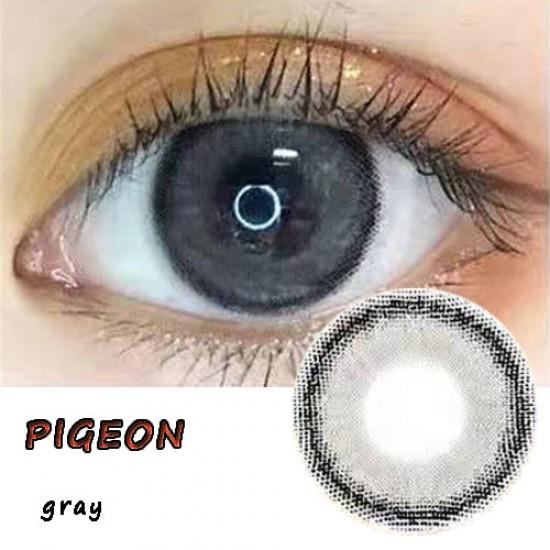 PIGEON GRAY COLOR CONTACT LENS (2PCS/PAIR)