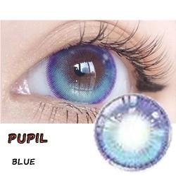 B-PUPIL BLUE COLOR CONTACT LENS (2PCS/PAIR)