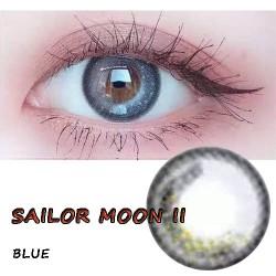B-SAILOR MOON II BLUE COLOR CONTACT LENS (2PCS/PAIR)