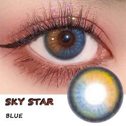 SKYSTAR BLUE COLOR SOFT CONTACT LENS  (2PCS/PAIR)
