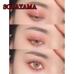 B-SORAYAMA BROWN COLOR CONTACT LENS (2PCS/PAIR)