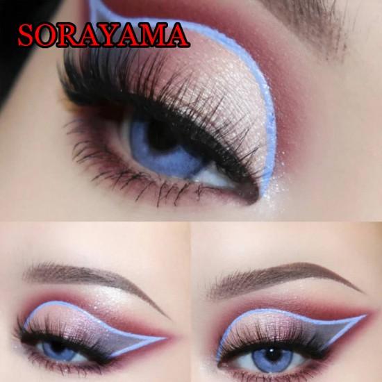 B-SORAYAMA BLUE COLOR CONTACT LENS (2PCS/PAIR)