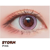 COLOR SOFT CONTACT LENS STORM PINK (PAIR)