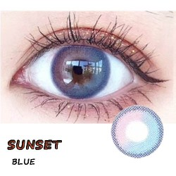 COLOR SOFT CONTACT LENS SUNSET BLUE (PAIR)