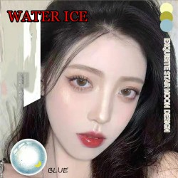 B-Water Ice Blue Color Soft Contact Lens (2pcs/pair)