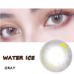 B-Water Ice Gray Color Soft Contact Lens (2pcs/pair)