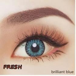B-FRESH BRILLIANT BLUE COLOR SOFT CONTACT LENS (2PCS/PAIR)