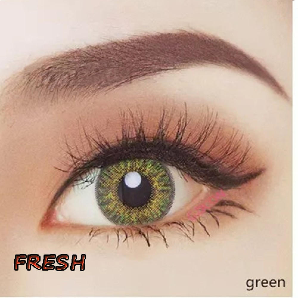 COLOR SOFT CONTACT LENS FRESH GREEN (PAIR)