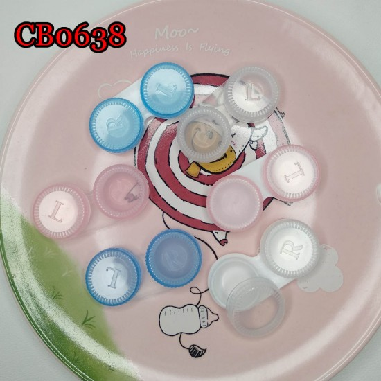 CB0638 SEMI TRANSPARENCY COLORFUL CONTACT LENS DUALBOX
