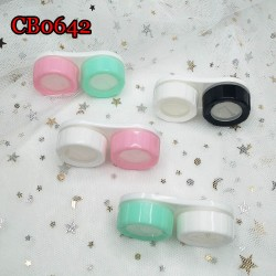 CB0642 2COLORS CAP WITH WINDOW CONTACT LENS DUALBOX
