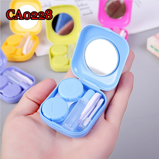 CONTACT LENS CASE SOLID SQUARE CA0228