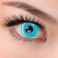 CRAZY COSPLAY SOFT CONTACT LENS  CL025 BLUE RING(PAIR)