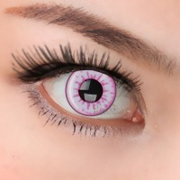 CL101 PINK TEMPTRESS COSPLAY COLOR CONTACT LENS(PAIR)