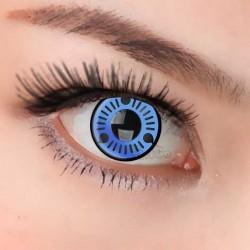 CL143 Naruto Series Blue Sasuke Sharingan Cosplay Color Contact Lenses (PAIR)