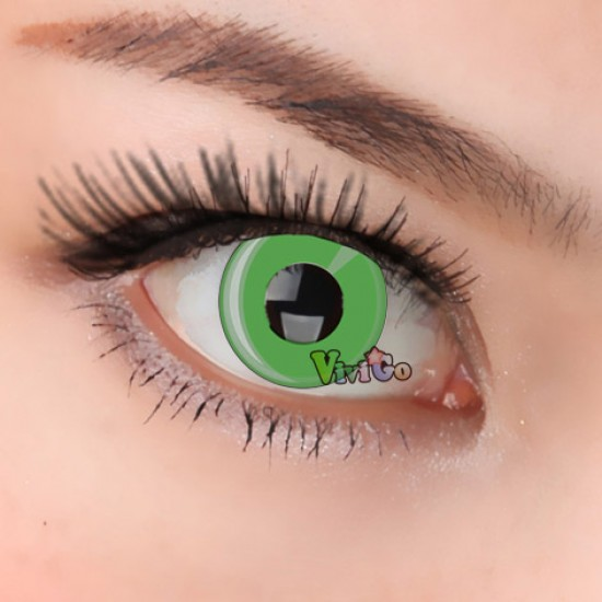 CL148  Green Ring Contact Lens ,Crazy/Cosplay Contact Lens(PAIR)