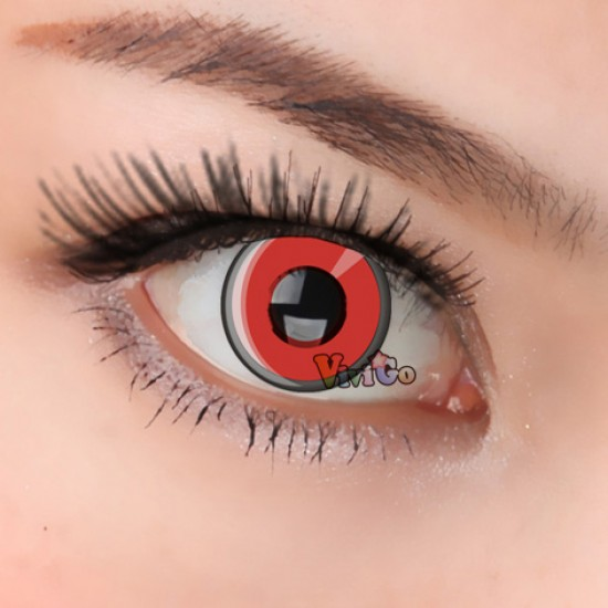 CL195 RED MANSON COSPLAY COLOR CONTACT LENS (PAIR)