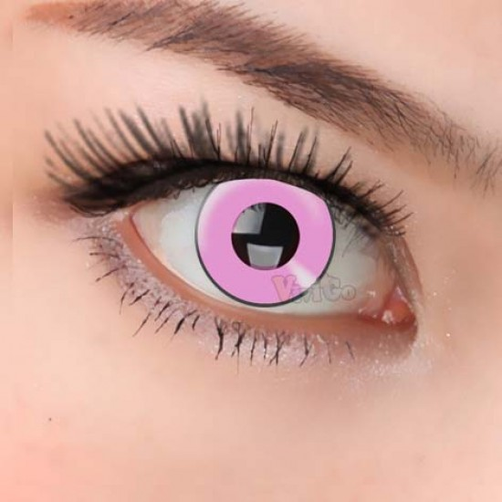 CL221 PINK MANSON COSPLAY COLOR CONTACT LENS (PAIR)