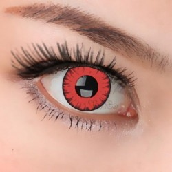 CL227 DEVIL RED COSPLAY COLOR CONTACT LENS (PAIR)