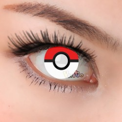 CL263 POKMON BLIND COSPALY SOFT CONTACT LENS (PAIR)
