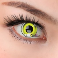 CL275 ANIME YELLOW COSPLAY CONTACT LENS (PAIR)