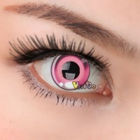 CL277 ANIME PINK COSPLAY CONTACT LENS (PAIR)