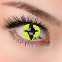 CL302 YELLOW LIWARD EYE Contact Lenses(PAIR)
