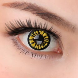 CL310 YELLOW BERRY COSPLAY COLOR CONTACT LENS (2PCS/PAIR)