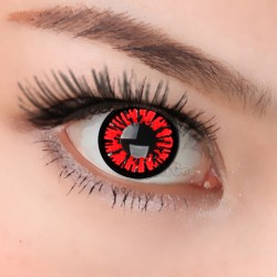 CL312 RED BERRY COSPLAY COLOR CONTACT LENS  (2PCS/PAIR)