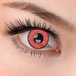 CL333 Little Demon Red Color Cosplay Contact Lenses (2PCS/PAIR)