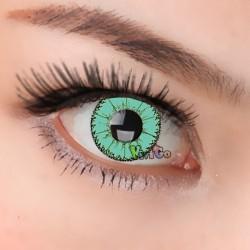 CL334 Little Demon Green Color Cosplay Contact Lenses (2PCS/PAIR)
