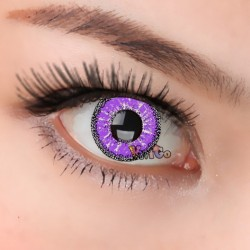 CL354 Snowspot Violet Color Cosplay Contact Lenses (2PCS/PAIR)
