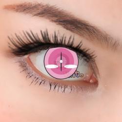 CL374 Yazuko Pink Color Crazy Contact Lense (2PCS/PAIR)