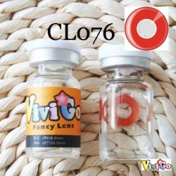 CL076 Red Ring CRAZY Cosplay Contact Lens(PAIR)
