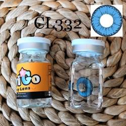 CL332 Little Demon Blue Cosplay Color Contact Lenses (2PCS/PAIR)