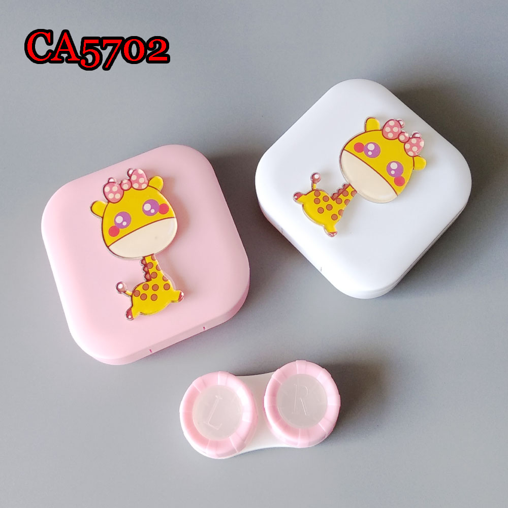 CUTE GRAFFIC DECO CONTACT LENS CASE CA5702